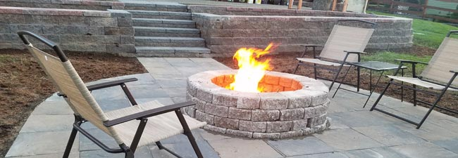 Patio Firepit Maple Valley